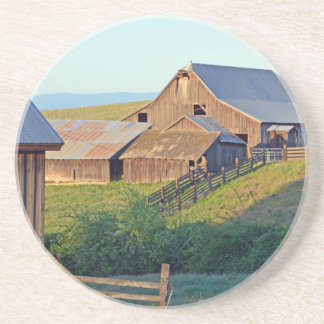 Dalles Mt Ranch, Barn Beverage Coasters