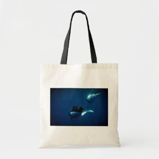 Dall's porpoise budget tote bag
