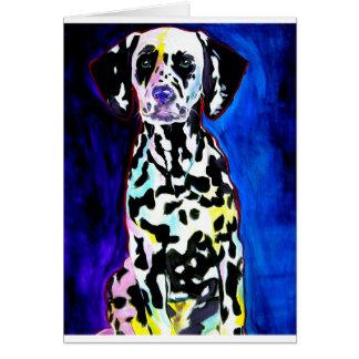 Dalmatian #1 greeting card