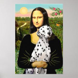 Dalmatian 1 - Mona Lisa Poster