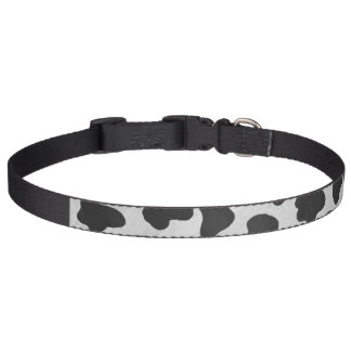 Dalmatian Black and White Print Pet Collar