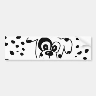 Dalmatian Bumper Sticker