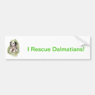 Dalmatian Bumper Stickers