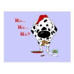 Dalmatian Christmas Post Cards
