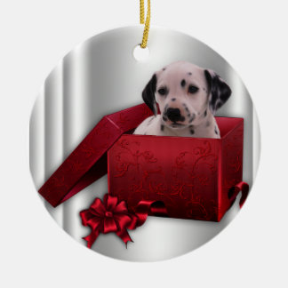 Dalmatian Christmas Tree Ornament