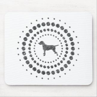 Dalmatian Chrome Studs Mousemat