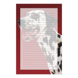Dalmatian Customized Stationery