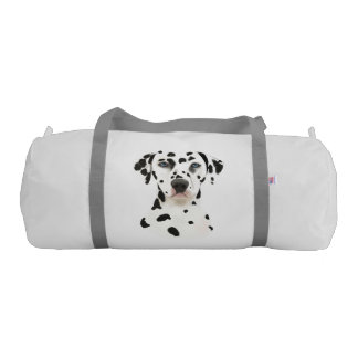 Dalmatian Dog Art Gym Bag