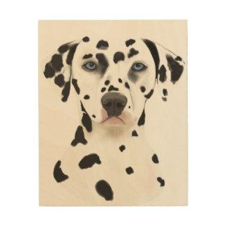 Dalmatian Dog art Wood Canvases
