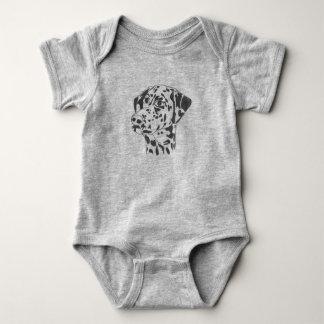 Dalmatian Dog Baby Jersey Bodysuit