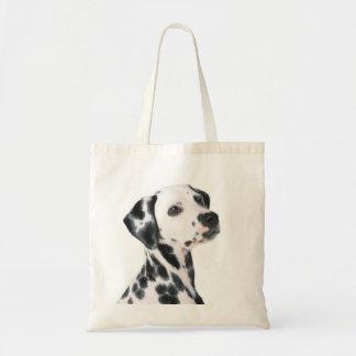 Dalmatian dog beautiful photo, gift tote bags