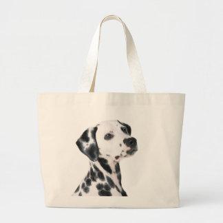Dalmatian dog beautiful photo, gift tote bag