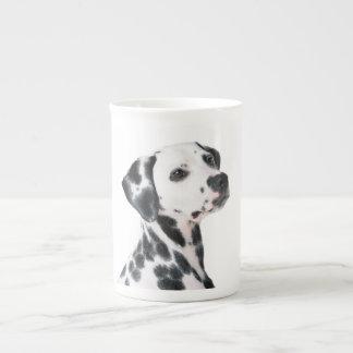 Dalmatian dog beautiful photo, gift bone china mug