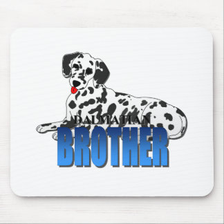 Dalmatian Dog Brother Mousepad