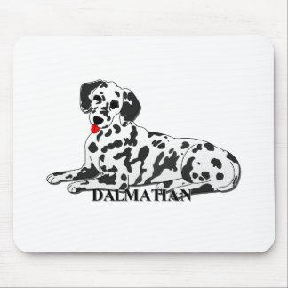 Dalmatian Dog Cartoon Mousepad