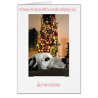 Dalmatian Dog Christmas Card