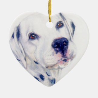 Dalmatian dog christmas ornament