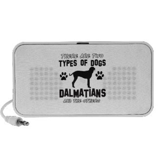 Dalmatian dog designs portable speaker