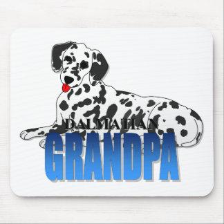 Dalmatian Dog Grandpa Mouse Mat