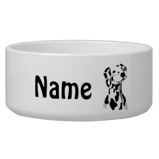 Dalmatian Dog Pet Bowl