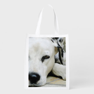 Dalmatian Dog Reusable Grocery Bag