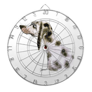 dalmatian dog, tony fernandes dartboard