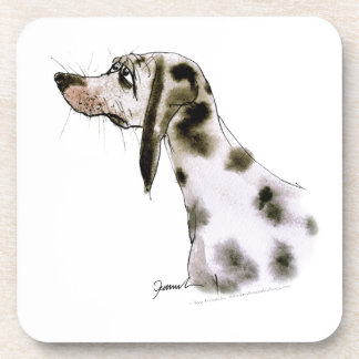 dalmatian dog, tony fernandes drink coaster