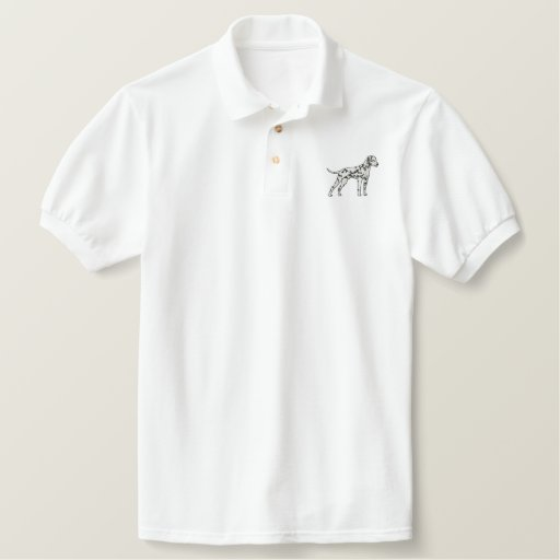 Dalmatian Embroidered Polo Shirts