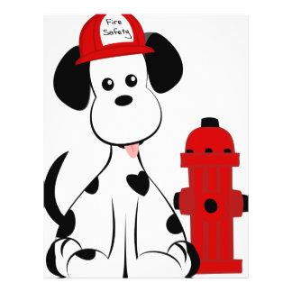 Dalmatian Fire Dog 21.5 Cm X 28 Cm Flyer