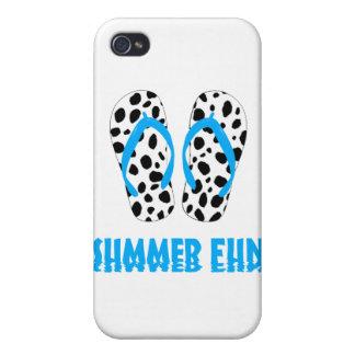 Dalmatian Flip Flops iPhone 4 Covers