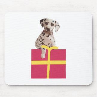 Dalmatian Gift Box Mouse Mat
