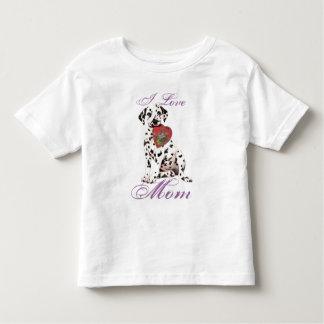 Dalmatian Heart Mom Toddler T-Shirt