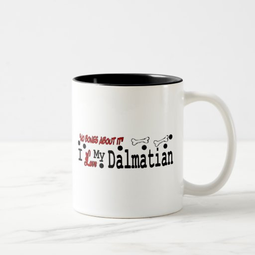 Dalmatian (I Love) Mug