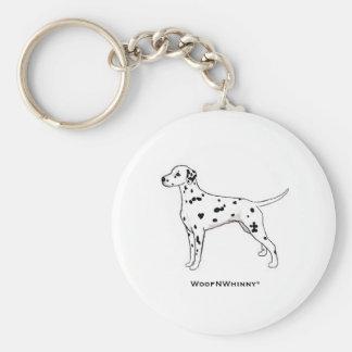 Dalmatian Key Ring