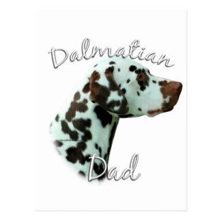 Dalmatian (liver) Dad 2 Postcards