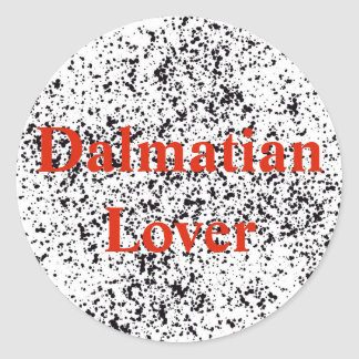 Dalmatian Lover Stickers