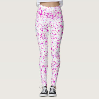 Dalmatian Pink Spotted Leggings