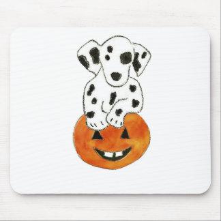 Dalmatian Pumpkin Mouse Mat