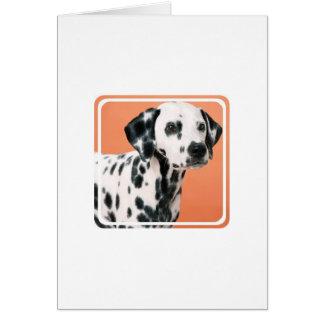 Dalmatian Puppies Greeting Card
