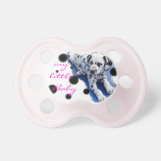 Dalmatian puppy baby dummy pacifiers