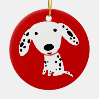 Dalmatian Puppy Christmas Ornament