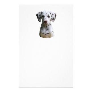 Dalmatian puppy dog photo 14 cm x 21.5 cm flyer
