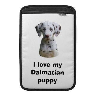 Dalmatian puppy dog photo MacBook sleeve