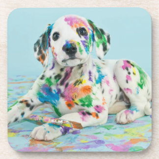 Dalmatian Puppy Drink Coaster