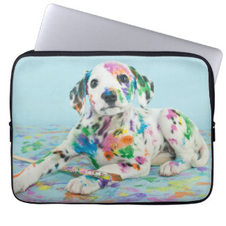 Dalmatian Puppy Laptop Sleeve