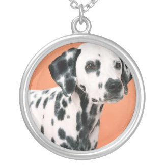 Dalmatian Puppy Necklace