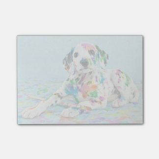 Dalmatian Puppy Post-it Notes