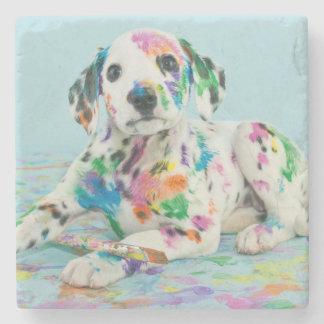 Dalmatian Puppy Stone Coaster