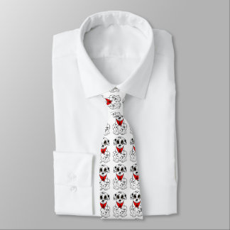 Dalmatian Puppy Tie