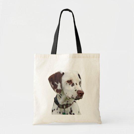 Dalmatian puppy tote bag, gift idea